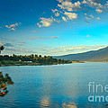 Morning Reflections On Lake Cascade by Robert Bales