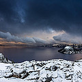 Morning Storm At Crater Lake by Greg Nyquist