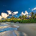 Morning Sun At Trunk Bay by Jogi Wolf