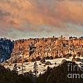 Morning Sun On The Ridge by Donna Greene