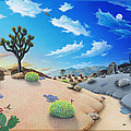 Joshua Tree Morning To Night by Snake Jagger