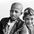 Moroccan School Boys by Donald  Erickson