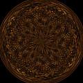 Morphed Art Globe 32 by Rhonda Barrett