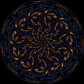 Morphed Art Globes 14 by Rhonda Barrett
