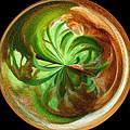 Morphed Art Globes 16 by Rhonda Barrett