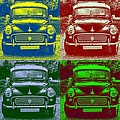 Morris Car In Pop Art by Chevy Fleet