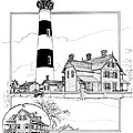 Morris Island Lighthouse by Ira Shander