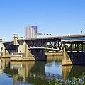 Morrison Bridge Portland Oregon by David Gn