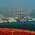 Morro Bay At A Distance by Joseph Coulombe