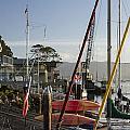 Morro Bay Embarcadero by Jim Moss