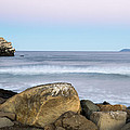 Morro Rock Morning by Terry Garvin