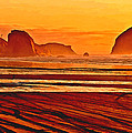 Morro Rock Painting by Bob and Nadine Johnston