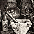 Mortar And Pestle by Heather Applegate