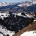 Morzine And Les Gets Panorama by John Gaffen