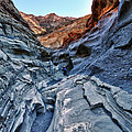 Mosaic Canyon In Death Valley by Angela Stanton