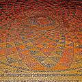 Mosaic Floor In Bergama Museum-turkey by Ruth Hager