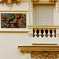 Mosaic In Nice France by Ben and Raisa Gertsberg