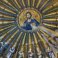 Mosaic Of Christ Pantocrator by Ayhan Altun