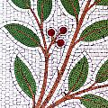 Mosaic Picture Of Tree Branch  by Chay Bewley