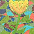 Mosaic Rose by JoNeL Art