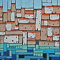 Mosaic Village 2 by Rhodes Rumsey