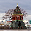 Moscow As Viewed From The Kremlin - Square by Alexander Senin