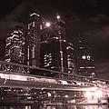 Moscow At Night by Lali Kacharava