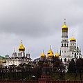 Moscow Kremlin Cathedrals - Featured 3 by Alexander Senin
