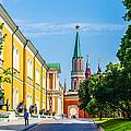 Moscow Kremlin Tour - 17 Of 70 by Alexander Senin