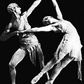 Moscow Opera Ballet Dancers by Underwood Archives