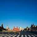 Moscow Red Square From South-east To North-west - Square by Alexander Senin