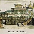 Moscow. Tsars Palace In The Kremlin by Everett