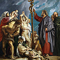 Moses And The Brazen Serpent by Peter Paul Rubens