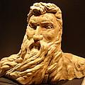Moses Michelangelo  by Joseph Hawkins