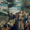 Moses Saved From The Waters by Paolo Veronese