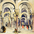 Mosque At Cordoba, From Sketches by John Frederick Lewis