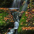 Round Pond Falls by Deborah Benoit