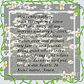 Most Powerful Prayer With Daisies by Barbara Griffin