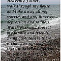 Most Powerful Prayer With Seascape by Barbara Griffin