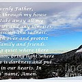 Most Powerful Prayer With Winter Scene by Barbara Griffin