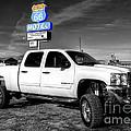 Motel Pickup  by Rob Hawkins