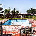 Motel Pool 3 by Angus Hooper Iii