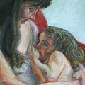 Mother And Child - Detail by Quin Sweetman