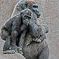 Mother And Child by Leon Roland