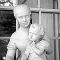 Mother And Child Statue by John Cardamone
