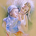 Mother And Son by Miki De Goodaboom