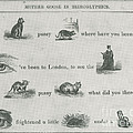 Mother Goose In Hieroglyphics, 1855 by Photo Researchers