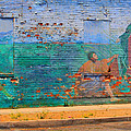 City Mural - Mother Mary by Kip Krause