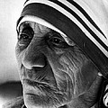 Mother Teresa Close Up by Retro Images Archive