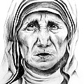 Mother Teresa by Mary Zins
